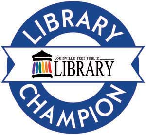 The Library Foundation - Library Champion Badge
