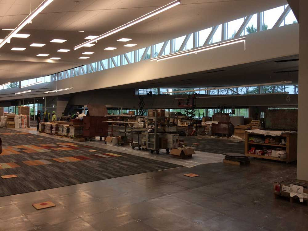 South Central Regional Library Nearing Completion