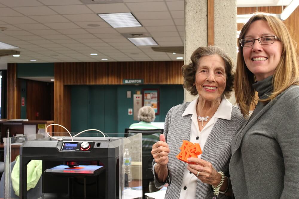 Library Foundation Donor Close-up: Edith Pitzer