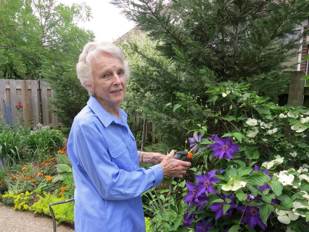 Mary Louise Gorman Gives Back