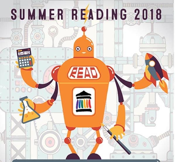 2018 Summer Reading at the Louisville Free Public Library starts June 1st – kickoff event June 9th!