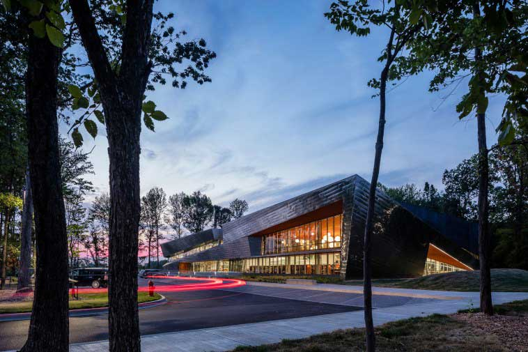 Library architects and designers keep green certification in forefront.