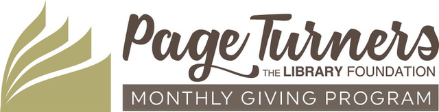 Page Turners Monthly Giving Program